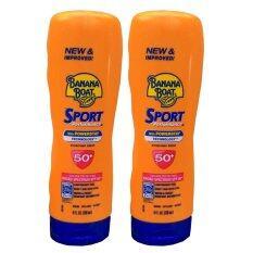 ราคา Banana Boat Sport Performance Sunscreen Lotion Spf 50 โลชั่นเนื้อบางเบา 236Ml 2 หลอด ใหม่ล่าสุด