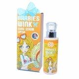 ขาย ซื้อ Barbies Wink Aura Serum บาร์บี้วิงค์ ออร่า เซรั่ม บำรุงผิวกายเนียนใส ขาวใสเป็นธรรมชาติ Spf50 สี White 1 กล่อง กรุงเทพมหานคร