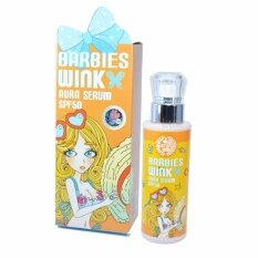ซื้อ Barbies Wink Aura Serum บาร์บี้วิงค์ ออร่า เซรั่ม บำรุงผิวกายเนียนใส ขาวใสเป็นธรรมชาติ Spf50 สี White 1 กล่อง Barbies Wink เป็นต้นฉบับ