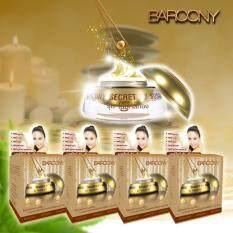 Barcony Secret By Susan รุ่นพิเศษครีมไข่มุกสีทอง 5G แพ็ค 4 กล่อง Thailand