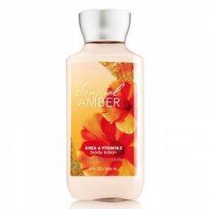 ขาย Bath Body Works Sensual Amber Shea Vitamin E Body Lotion 236Ml โลชั่นสูตรเข้มข้น กลิ่นหอมหวานละมุน เพื่อผิวเนียนนุ่มชุ่มชื้นน่าสัมผัส ช่วยปกป้องผิวจากความแห้งกร้าน ถูก