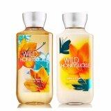ขาย ซื้อ Bath And Body Works Wild Honeysuckle Shea Vitamin E Body Lotion 236Ml Wild Honeysuckle Shea Vitamin E Shower Gel 295Ml กลิ่นน้ำผึ้งหอมหวาน เพิ่มความชุ่มชื้น มอบความหอมสะอาด พร้อมกับวิตามินอีบำรุงผิวให้ชุ่มชื่น ใน Thailand