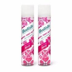 ทบทวน ที่สุด Batiste Dry Shampoo Floral Flirty Blush 200 Ml X 2