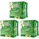 โปรโมชั่น Beauty Comfort บิวตี้ คอมฟอร์ท แผ่นอนามัยสมุนไพร สีเขียว สำหรับใช้ทุกวัน 20แผ่นX3ห่อ ถูก