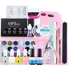 ซื้อ Beauty Item อุปกรณ์เพ้นท์เล็บ และอุปกรณ์ทําเล็บ สีทาเล็บ และต่อเล็บเจล ครบเซ็ต พร้อมยาทาเล็บ 6ขวด ออนไลน์ Thailand
