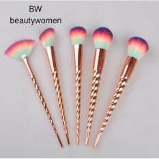 ส่วนลด Beauty Women แปรงแต่งหน้า Colorful สีสันสดใส 5 ด้าม Beautywomen ใน กรุงเทพมหานคร