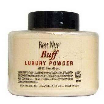 รีวิว Ben Nye แป้งฝุ่นผสมรองพื้น Luxury Powder 42g (#BUFF)