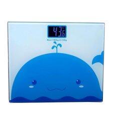 ราคา Best Electronic Weight Scale เครื่องชั่งน้ำหนักดิจิตอล กระจกใส Blue ถูก