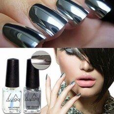 ... Long Lasting Metal Mirror Surface Fashion Nail Art Polish DIY Manicure Tool (6#)THB88 · THB 88
