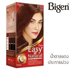 ขาย Bigen Easy N Natural บีเง็น ครีมเปลี่ยนสีผม Bg5 น้ำตาลทองแดงประกายม่วง ถูก กรุงเทพมหานคร