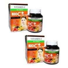 ซื้อ Bio C Vitamin Alpha Zinc 1 500 Mg ไบโอ ซี วิตามิน ขนาด 30 เม็ด 2กล่อง ถูก ใน กรุงเทพมหานคร