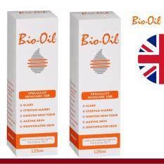 ขาย Bio Oil 125 Ml X 2 Pack ผลิตภัณฑ์ดูแลผิวแห้ง ผิวแตกลาย รอยแผลเป็น ผู้ค้าส่ง
