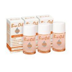 ซื้อ Bio Oil ผลิตภัณฑ์รักษาแผลเป็นและรอยแตกลาย 60 Ml X 3 ขวด Bio Oil เป็นต้นฉบับ