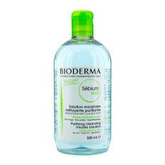 ราคา Bioderma ผลิตภัณฑ์เช็คทำความสะอาดเครื่องสำอางสูตรน้ำ 500Ml เขียว ใหม่ล่าสุด