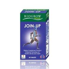 โปรโมชั่น Biogrow Join Upบำรุงกระดูก ข้อต่อ ลดความเสี่ยงโรคข้อเสื่อม 60เม็ด