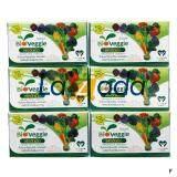 Bioveggie ไบโอเวกกี้ ผลิตภัณฑ์เสริมอาหาร ผักอัดเม็ด 12 ชนิด จำนวน 6 กล่อง 180 ซอง X 5 เม็ด ถูก