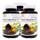 ขาย ซื้อ Black Sesame Oil น้ำมันงาดำสกัดเย็น 1000 Mg 300 แคปซูล 3 กระปุก กรุงเทพมหานคร