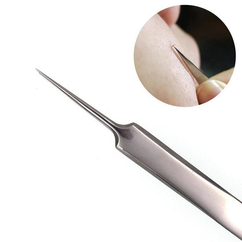 Blackhead Comedone Spot Remover Extractor Acne Tool Stainless steel needles - intl