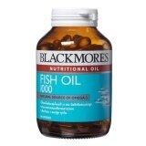 ขาย Blackmores ผลิตภัณฑ์เสริมอาหาร Fish Oil 1000 Mg 80เม็ด Blackmores ออนไลน์