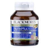 ขาย Blackmores ผลิตภัณฑ์เสริมอาหาร Nutrimulti 50เม็ด สูตรสารอาหารรวม 25 ชนิด