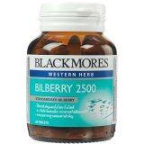 ขาย Blackmores ผลิตภัณฑ์เสริมอาหาร Bilberry 2500 60เม็ด ใน กรุงเทพมหานคร