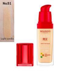 ซื้อ Bourjois Healthy Mix Foundation 51 Light Vanilla Clair ผิวขาว ถูก