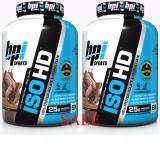 ซื้อ Bpi Sports บีพีไอ สปอร์ต เวย์โปรตีน ไอโซเลท รสชอคโกแลต บราวนี่ Iso Hd 5 4Lb Chocolate Brownie Flavor 100 Protein Isolate And Hydrolysate Sport Supplement 2 Units ออนไลน์ ถูก