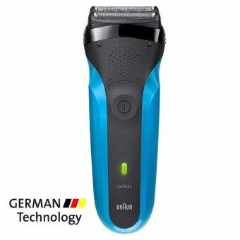Braun เครื่องโกนหนวด Series 3 310s WetDry Electric Shaver Electric Razor Blue