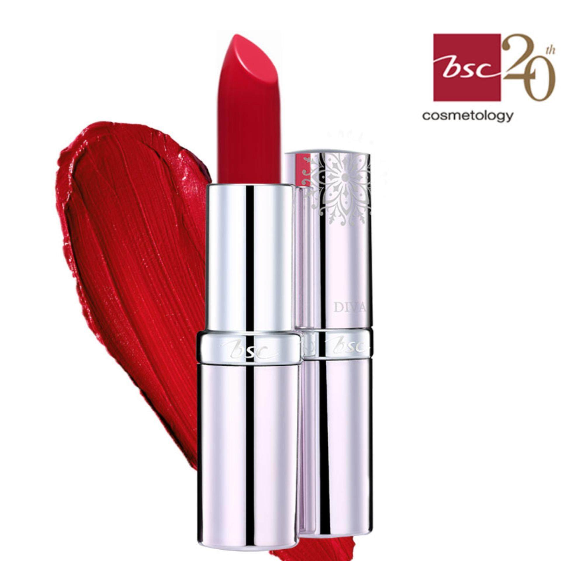 BSC DIVA  MATTE LIP COLOR สี P1