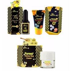ขาย B Secret Queen Bee Drop บีซีเคร็ท น้ำหยดนางพญา 30Ml 1 ขวด B Secret Forest Honey Bee Cream บี ซีเคร็ท ครีมน้ำผึ้งป่า ขนาด 15 กรัม 1 กล่อง B Secret Honey Foundation W2M ครีมกันแดดน้ำผึ้งป่ากันแดดละลายได้ 20G 1กล่อง ใหม่