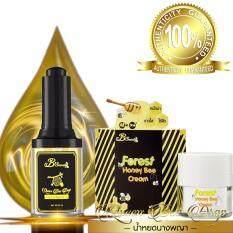 ขาย B Secret Queen Bee Drop Forest Honey Bee Creem 100 Original Product น้ำหยดนางพญาและครีมน้ำผึ้งป่า ของแท้ 100 1 Set B Secret เป็นต้นฉบับ