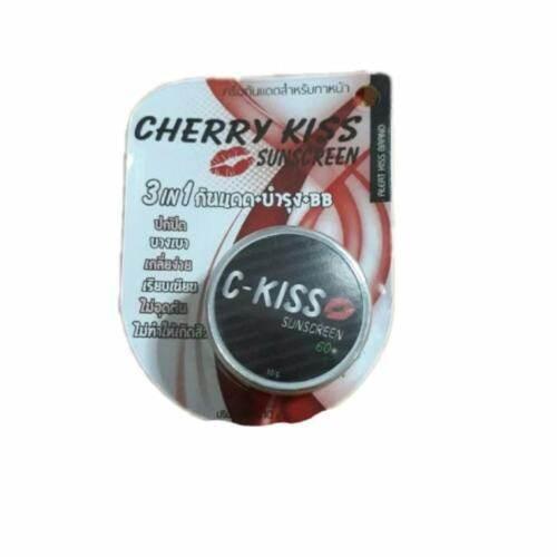 C-Kiss Cherry Kiss Sunscreen 3in1 SPF 60PA+++ 10 กรัม (1 กระปุก)