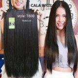 ทบทวน Cala Wigs แฮร์พีช T600 สีดำธรรมชาติ