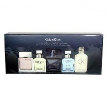 ราคา Calvin Klein น้ำหอม Calvin Klein Miniature Cologne Gift Set for Men (5 pcs.x10 ml)