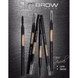 ราคา ☆Caramel สีน้ำตาลอ่อน Cosluxe Slimbrow Pencil เขียนคิ้วเนื้อฝุ่นอัดแข็ง ช่วยในการแรเงาคิ้วได้อย่างเป็นธรรมชาติ Cosluxe เป็นต้นฉบับ