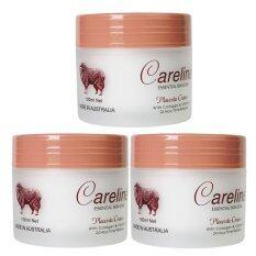 ทบทวน Careline Placenta Cream With Collagen Vitamin E ครีมรกแกะ 100Ml 3 ชิ้น