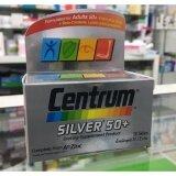 ขาย Centrum Silver 50 A To Zinc Beta Carotene Lutien 30เม็ด Centrum