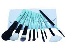 ราคา Cerro Qreen Professional White Green Makeup Brushes Dream Set ชุดแปรงแต่งหน้า 10 ชิ้น พร้อมกระเป๋าเก็บ Green ภูเก็ต
