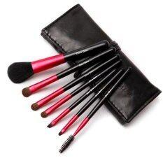 ส่วนลด Cerroqreen Makeup Brush Sets แปรงแต่งหน้า Set 7 ชิ้น สีดำแดง