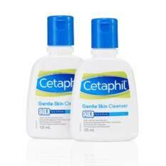 ซื้อ Cetaphil Gentle Cleanser 125 Ml X 2ขวด ผลิตภัณฑ์ทำความสะอาดผิวหน้า Cetaphil