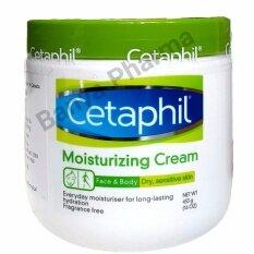 Cetaphil Moisturizing Cream For Dry Sensitive Skin 453 G สำหรับผิวที่บอบบางผิวแห้งและแพ้ง่าย หรือผิวหนังอักเสบ ใน กรุงเทพมหานคร