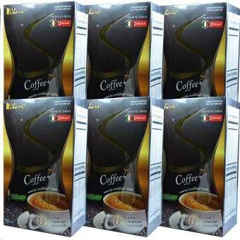 Chame Sye Coffee Plus (10 ซอง) กาแฟลดน้ำหนัก กระชับสัดส่วน (6 กล่อง)-