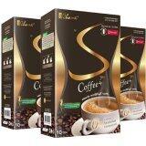 ราคา ราคาถูกที่สุด Chame Sye Coffee Plus กาแฟลดน้ำหนัก กระชับสัดส่วน Syes เชียร์ 1 กล่อง มี 10ซอง จำนวน 3 กล่อง