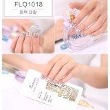 ซื้อ Chanee Korean Nail Art Sticker สติกเกอร์ติดเล็บลอกลายจากเกาหลี แถมเทปแต่งเล็บ 1 ม้วน No Flq1018 ออนไลน์ ถูก