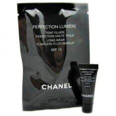ราคา Chanel Perfect Lumiere Long Wear Flawless Fluid Make Up Spf 10 2 5 Ml No 20 Beigeสำหรับผิวขาวเหลือง Chanel ใหม่