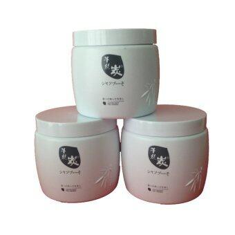 ซันปุโซะ ชาร์โคล ดิสทิเลท แฮร์ มาส์ค500มล.x3 Sunpuso Charcoal Distillate Hair Mask 500mlx3(...)