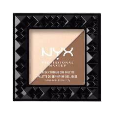 ซื้อ นิกซ์ โปรเฟสชั่นแนล เมคอัพ ชีค คอนทัวร์ ดูโอ พาเลท Chcd02 ดับเบิลเดท ไฮไลท์ แอน คอนทัวร์ Nyx Professional Makeup Cheek Contour Duo Palette Chcd02 Double Date Highlight Contour