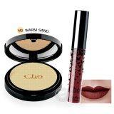 ราคา Cho โช แป้งโช M2 ผิวกลาง ลิปโช ลิปเนื้อแมท แป้ง เนย โชติกา Cho Silky Matte Liquid Lipstick 10 Red Divine เป็นต้นฉบับ