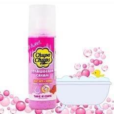ขาย ครีมอาบน้ํา ผิวขาว ตัวหอม ครีมอาบน้ำน้ำหอม ผสมโลชั่นบำรุงผิวกาย ล้ำลึก ผิวนุ่ม เนียน บำรุงผิวแห้งกร้าน ยี่ห้อ จุ๊ปเปอร์จุ๊ป จุ๊ปปาจุ๊ป Chupa Chups Bath Cream Strawberry สตอเบอร์รี่ 250Ml 1ขวด Chupa Chups