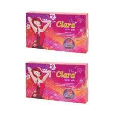 ส่วนลด Clara Plus คลาร่าพลัส 20 แคปซูล กล่องชมพู แพ็คคู่
